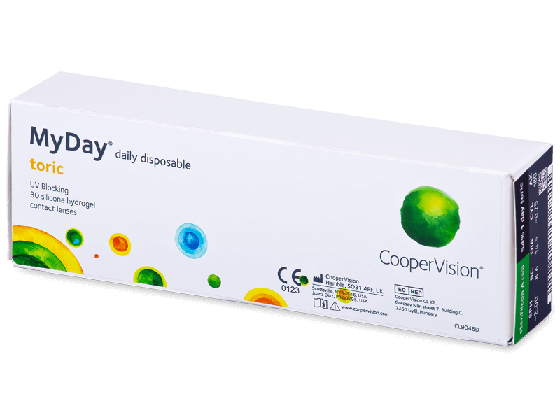 MyDay daily disposable toric (30 шт.)