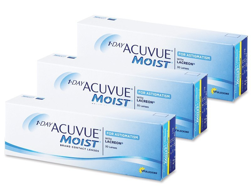 1 Day Acuvue Moist for Astigmatism (90шт.)