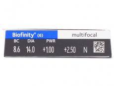 Biofinity Multifocal (6шт.)