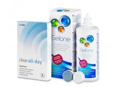 Clear All-Day (6шт.) +РозчинGelone360ml