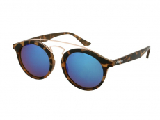 Дитячі сонцезахисні окуляри Alensa Panto Havana Blue Mirror