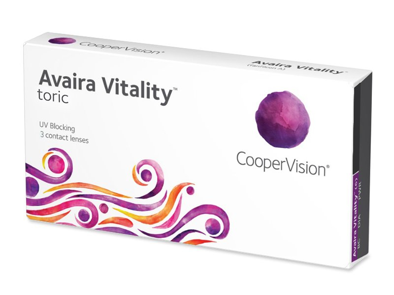 Avaira Vitality Toric (3 лінзи)