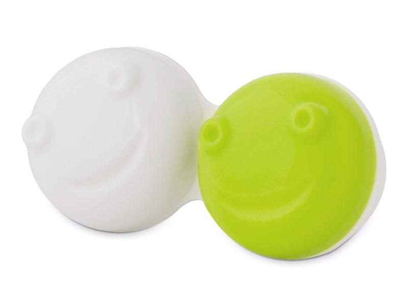 Контейнер для лінз для вібраційного очищення лінз - зелений