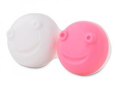 Контейнер для лінз для вібраційного очищення лінз - рожевий
