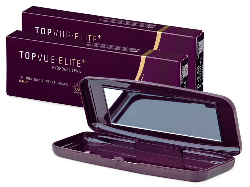 TopVue Elite+ (10 пар) + контейнер TopVue Elite