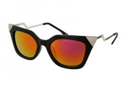 Сонцезахисні окуляри Alensa Cat Eye Shiny Black Mirror