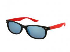 Дитячі сонцезахисні окуляри Alensa Sport Black Red Mirror
