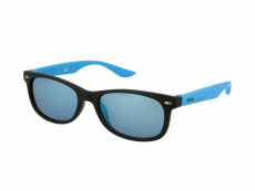 Дитячі сонцезахисні окуляри Alensa Sport Black Blue Mirror