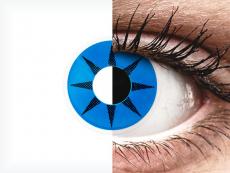 ColourVUE Crazy Lens - Blue Star - недіоптричні (2 шт.)