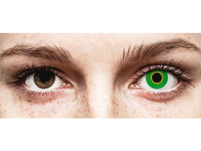 ColourVUE Crazy Lens - Hulk Green - недіоптричні (2 шт.)