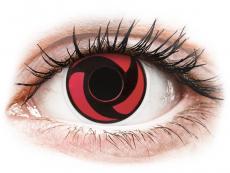 ColourVUE Crazy Lens - Mangekyu - недіоптричні (2 шт.)