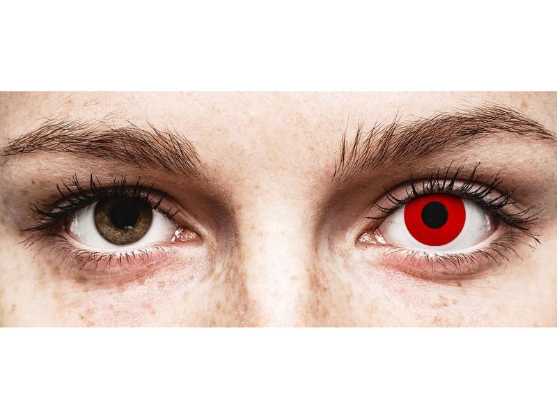 ColourVUE Crazy Lens - Red Devil - недіоптричні (2 шт.)