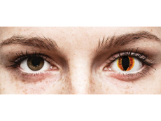 ColourVUE Crazy Lens - Saurons Eye - недіоптричні (2 шт.)