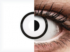 ColourVUE Crazy Lens - White Zombie - недіоптричні (2 шт.)