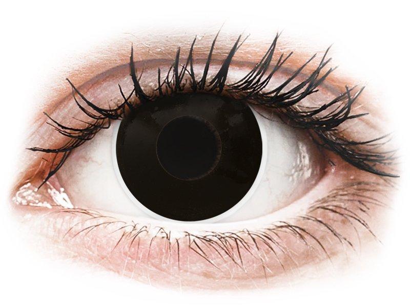 ColourVUE Crazy Lens - BlackOut - діоптричні (2 шт.)
