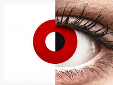 ColourVUE Crazy Lens - Red Devil - діоптричні (2 шт.)