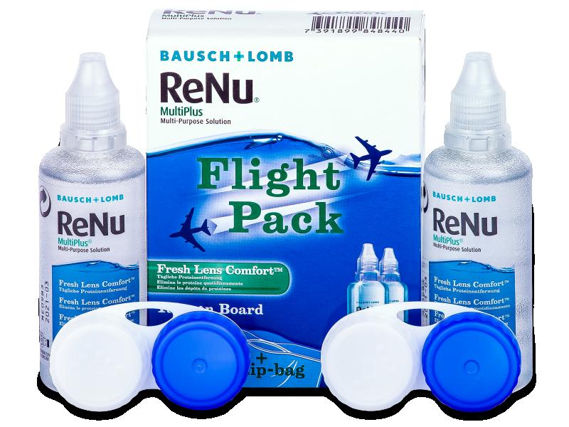 Розчин ReNu Multiplus flight pack 2 x 60 ml