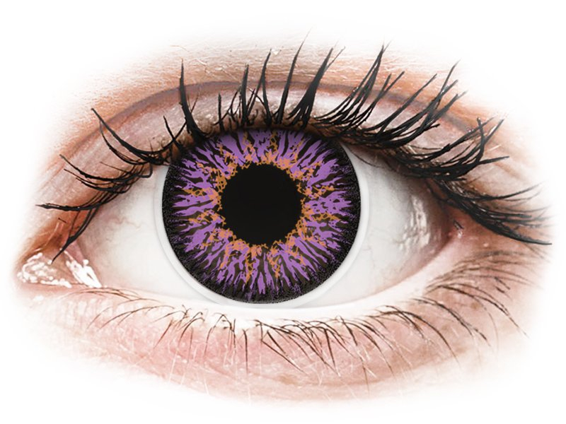 ColourVUE Glamour Violet - недіоптричні (2шт.)