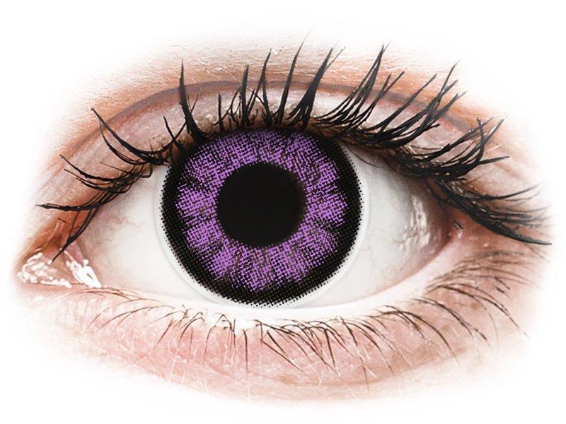 ColourVUE BigEyes Ultra Violet - недіоптричні (2шт.)