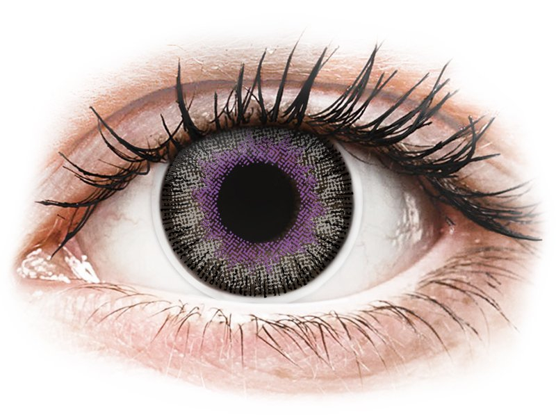 ColourVUE Fusion Violet Gray - недіоптричні (2шт.)