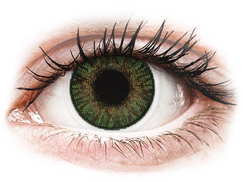 FreshLook ColorBlends Gemstone Green - діоптричні (2 шт.)