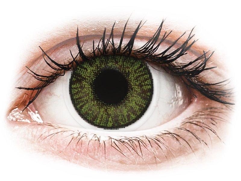 FreshLook ColorBlends Green - діоптричні (2 шт.)