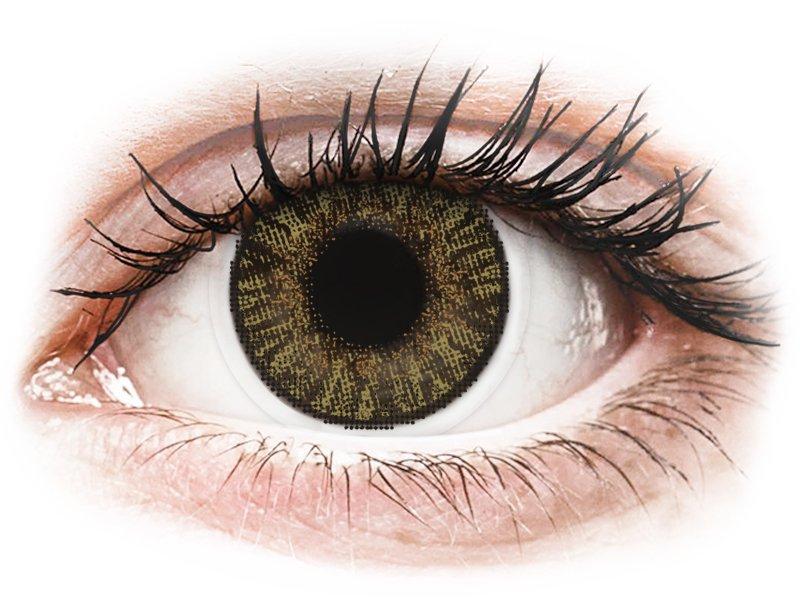 FreshLook ColorBlends Pure Hazel - діоптричні (2 шт.)
