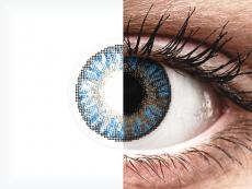 FreshLook ColorBlends True Sapphire - діоптричні (2 шт.)