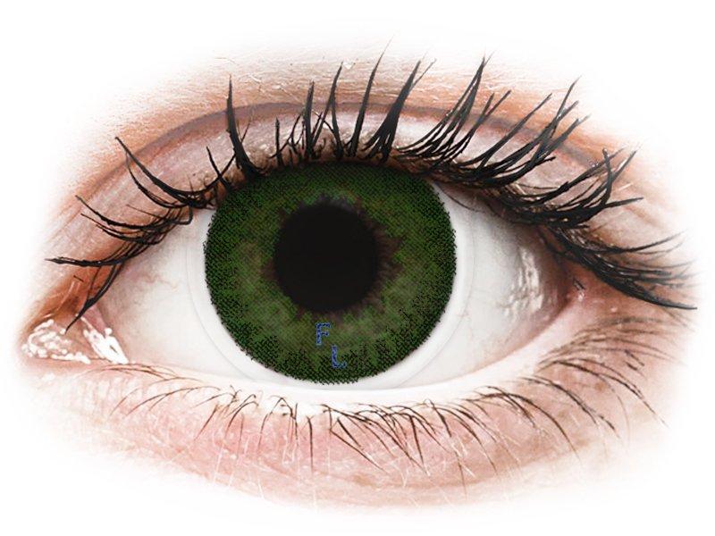 FreshLook Dimensions Sea Green - діоптричні (6 шт.)