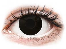 ColourVUE Crazy Lens - Blackout - Одноденні недіоптричні (2 шт.)