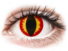 ColourVUE Crazy Lens - Dragon Eyes - Одноденні недіоптричні (2 шт.)