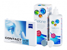 Zeiss Contact Day 30 Air (6 шт.) + Розчин Gelone 360 ml