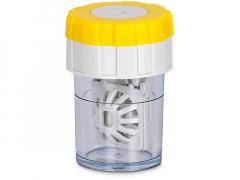 Обертающийся контейнер для лінз - жовтий