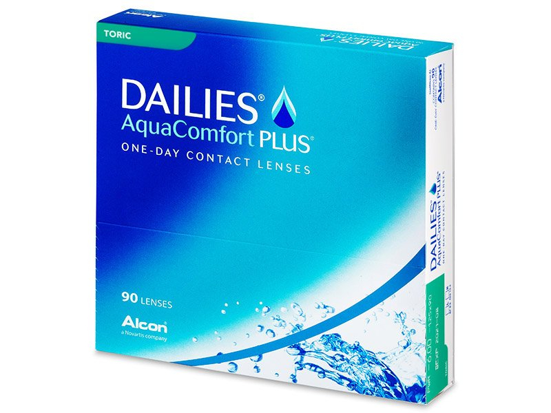 Dailies AquaComfort Plus Toric (90 шт.)