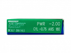 Air Optix plus HydraGlyde for Astigmatism (6лінз)