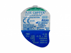 Air Optix plus HydraGlyde for Astigmatism (3 лінз)