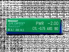 Air Optix plus HydraGlyde for Astigmatism (3 лінз)