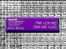 Air Optix plus HydraGlyde Multifocal (6лінз)