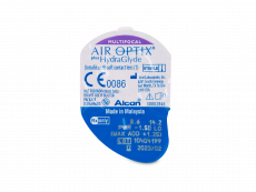 Air Optix plus HydraGlyde Multifocal (3 лінзи)