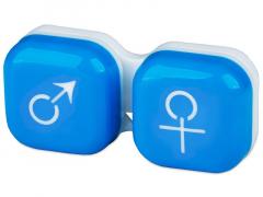 Контейнер для лінз man&woman - блакитний