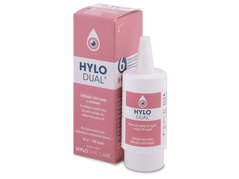 Краплі для очей HYLO-DUAL 10 ml