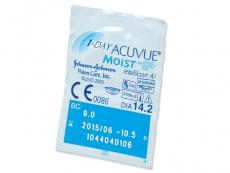 1 Day Acuvue Moist (180лінз)