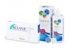 Acuvue 2 (6 шт.) + Розчин Gelone 360 ml
