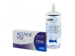 Acuvue Vita (6 шт.) + Розчин Laim-Care 400 ml