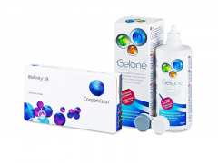 Biofinity XR (3 шт.) + Розчин Gelone 360 ml