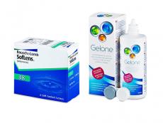 SofLens 38 (6 шт.) + Розчин Gelone 360 ml