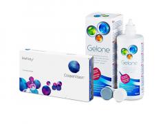 Biofinity (3 шт.) + Розчин Gelone 360 ml