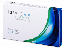 TopVue Air for Astigmatism (3 лiнзи)