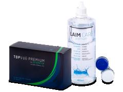 TopVue Premium for Astigmatism (6лінз) +розчин Laim-Care 400ml