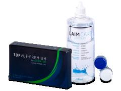TopVue Premium for Astigmatism (3шт.) +розчин Laim-Care 400ml